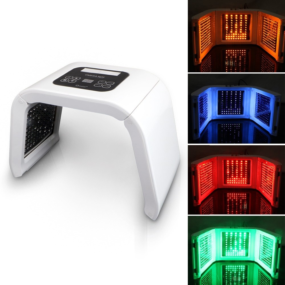 Led Light Therapy At Home: BEMC Factory Price Omega Light LED Therapy Red /Blue/Green